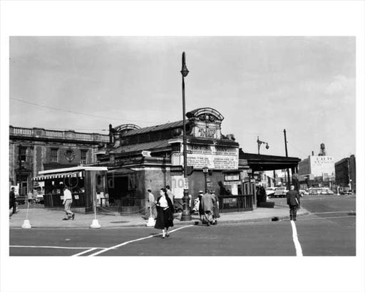 Atlantic Avenue BRT Train Station Old Vintage Photos and Images