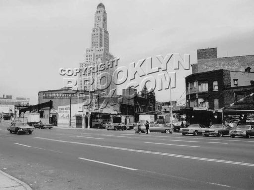 Atlantic Avenue meat packing district during the 1970s, photo courtesy of Art Huneke, 1970s Old Vintage Photos and Images