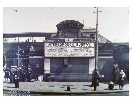 Atlantic Avenue Station 2 East New York - Brooklyn NY Old Vintage Photos and Images