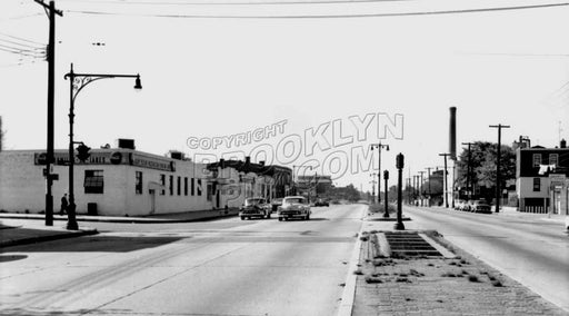 Atlantic Avenue west to Crescent Street, 1959 Old Vintage Photos and Images