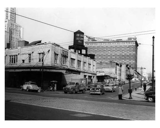 Atlantic & South Oxford 1950 - Fort Greene Brooklyn Old Vintage Photos and Images