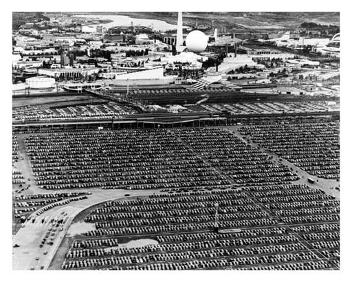 Auto Jam at Worlds Fair 1939 - Flushing - Queens - NYC Old Vintage Photos and Images