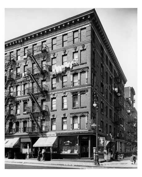 Avenue B & East 14th Street - Alphabet City - Manhattan - New York, NY 1918 C Old Vintage Photos and Images