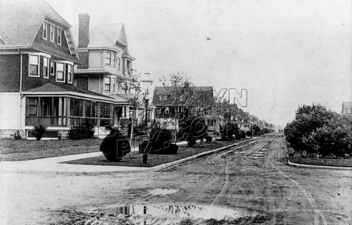 Avenue J looking east from East 21st Street, c.1910 Old Vintage Photos and Images
