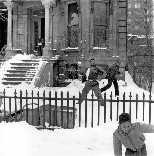 Back in 1960, this was a ghetto; now only for the rich. 388 Washington Avenue Old Vintage Photos and Images