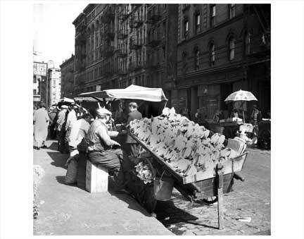 Banana Cart NYNY I Old Vintage Photos and Images