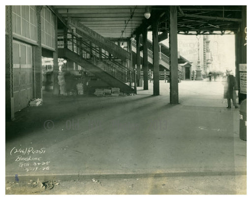"""Baseline Station"" Manhattan Terminal 1928 Civic center Old Vintage Photos and Images"