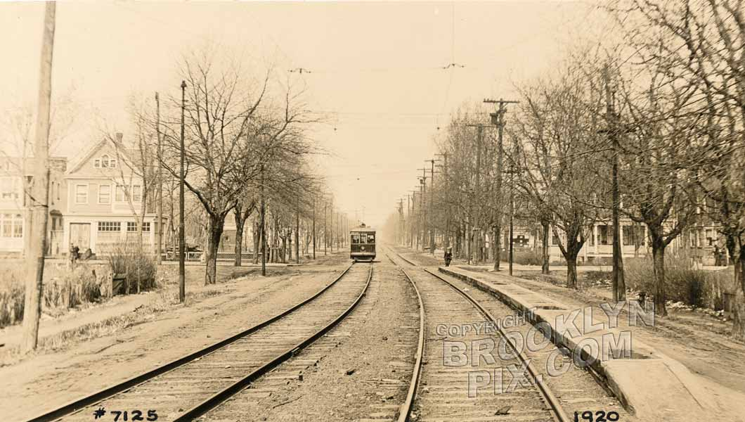 Bath Avenue northwest to Bay 34th Street, 1920