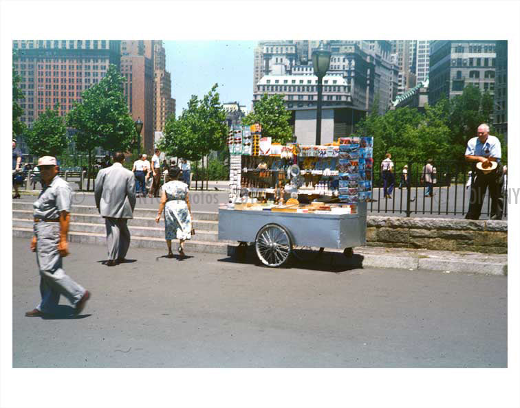 Battery Park in the summer Old Vintage Photos and Images