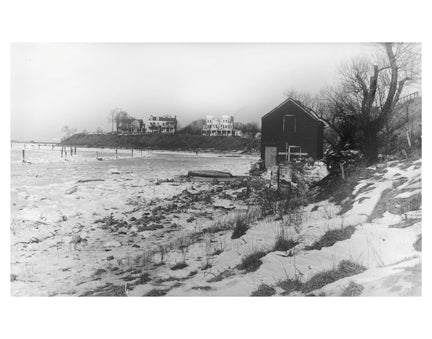 Bay Ridge Shore in Winter Brooklyn NY Old Vintage Photos and Images