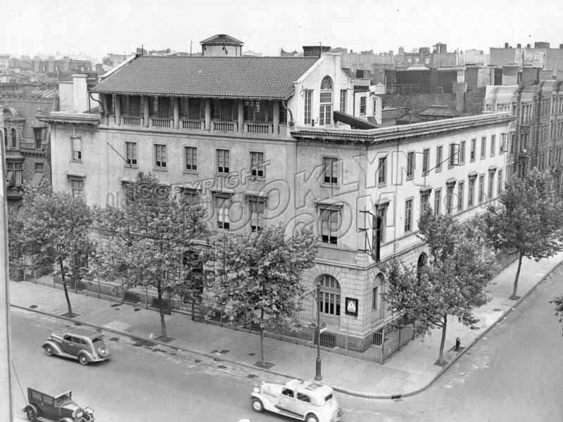 Bedford Avenue at Keap Street, former YWCA became YMHA, 1937 Old Vintage Photos and Images