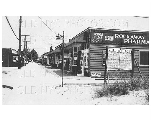 Bedford Avenue & Market Breezy Point Rockaway Point 1930 Old Vintage Photos and Images