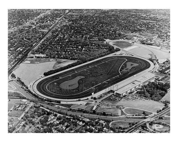 Belmont Park - Elmont Queens NYC B Old Vintage Photos and Images