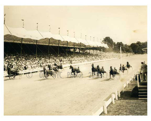 Belmont Park - Elmont Queens NYC C Old Vintage Photos and Images