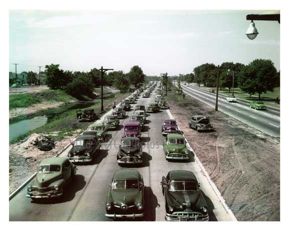 Belt Parkway 1953 - Laurelton -  Queens NY Old Vintage Photos and Images