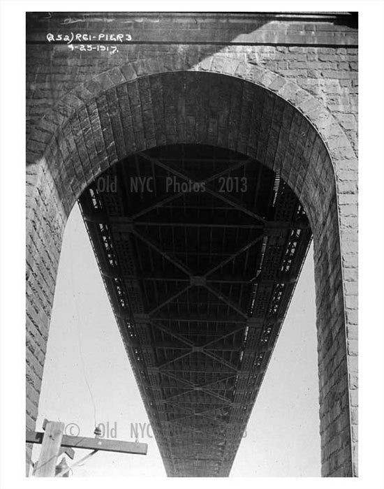 beneath the Queensboro Bridge Old Vintage Photos and Images