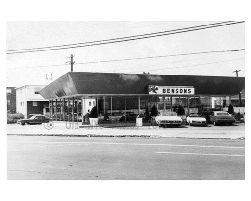 Bensons Burgers Flatlands Ave 1967 Old Vintage Photos and Images