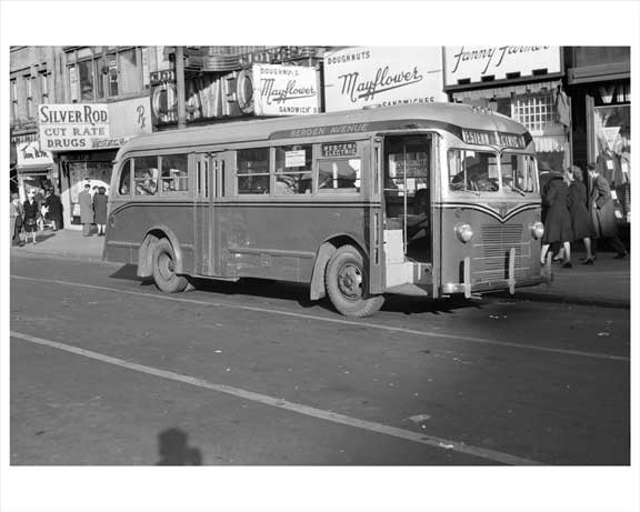 Bergen Ave Jersey City, NJ 1948 Old Vintage Photos and Images