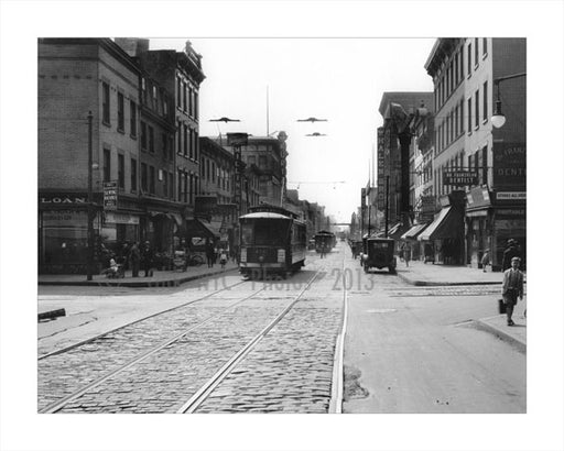 Bergen & Smith Street - Trolley line Old Vintage Photos and Images