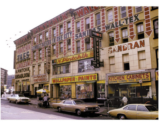Bergen Street at Flatbush Avenue - 1974 Old Vintage Photos and Images