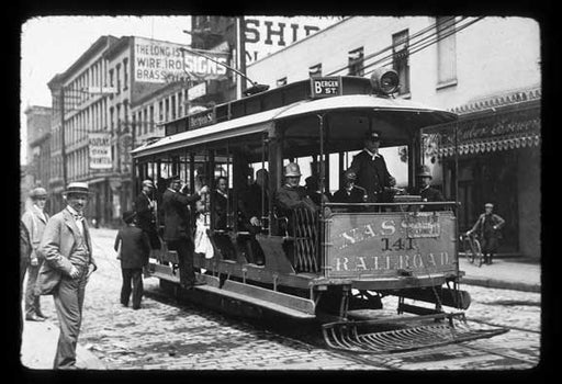 Bergen Street trolley Crown Heights Brooklyn  Old Vintage Photos and Images