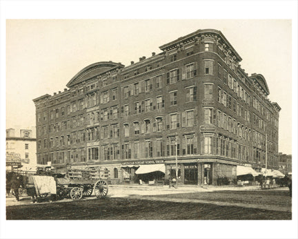 Bible House 1865 Manhattan NY Old Vintage Photos and Images
