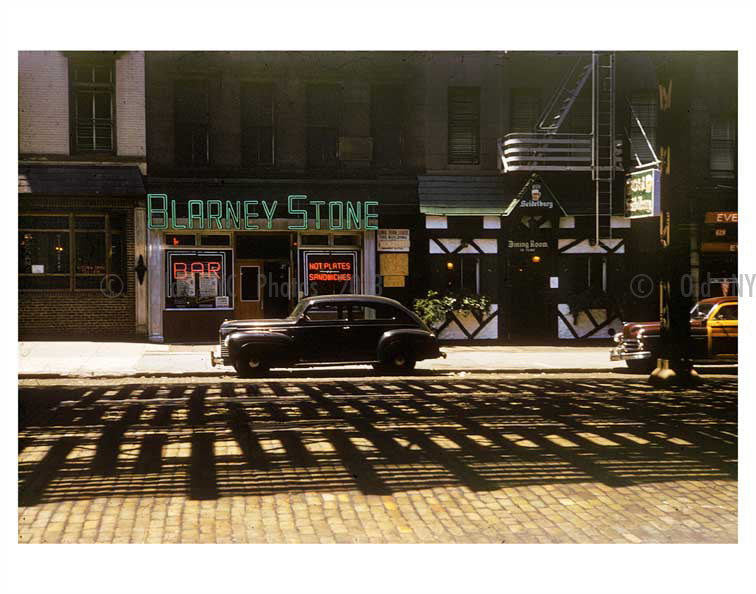 Blarney Stone Pub- 8th Avenue - Chelsea - Manhattan Old Vintage Photos and Images