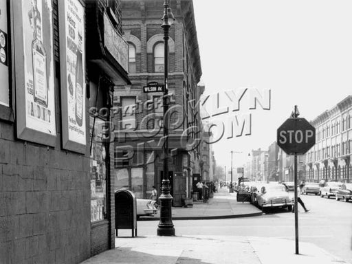 Bleecker Street looking south to Wilson Avenue, 1960 Old Vintage Photos and Images