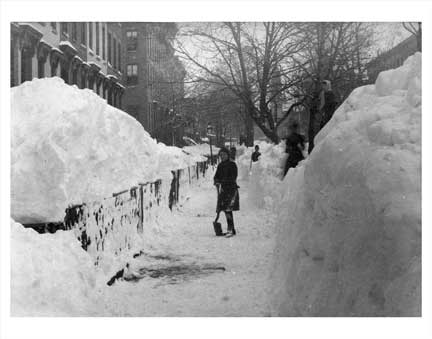 Blizzard of 1888 Fort Greene Brooklyn NY Old Vintage Photos and Images