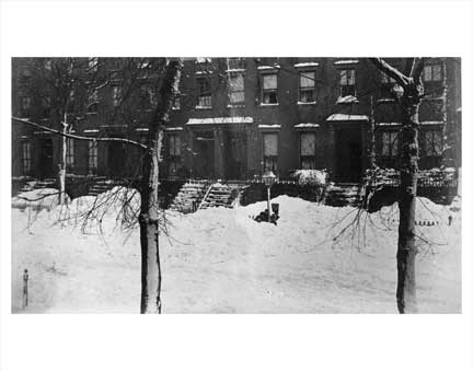 Blizzard of 1888 2 Fort Greene Brooklyn NY Old Vintage Photos and Images