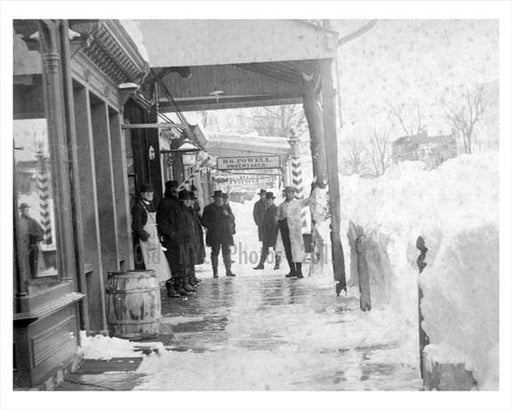 Blizzard of 1888 Hempstead Long Island NY Old Vintage Photos and Images