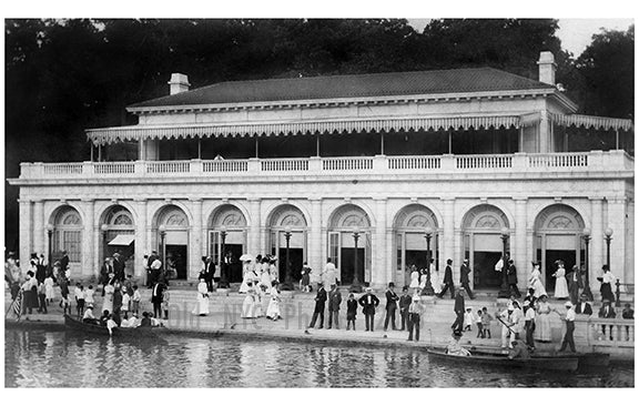 Boat house Prospect Park Old Vintage Photos and Images
