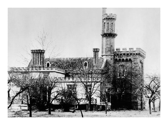 Bodine Castle, 43-16 Vernon Blvd. Long Island City - Queens NY Old Vintage Photos and Images