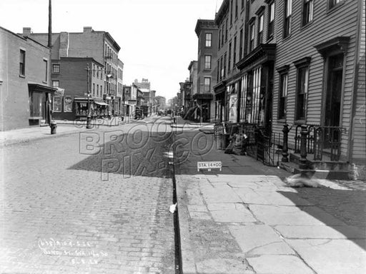 Bond Street looking to Baltic Street, 1928