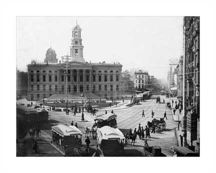 Borough Hall C Old Vintage Photos and Images