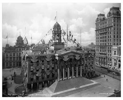 Borough Hall Brooklyn NY Old Vintage Photos and Images