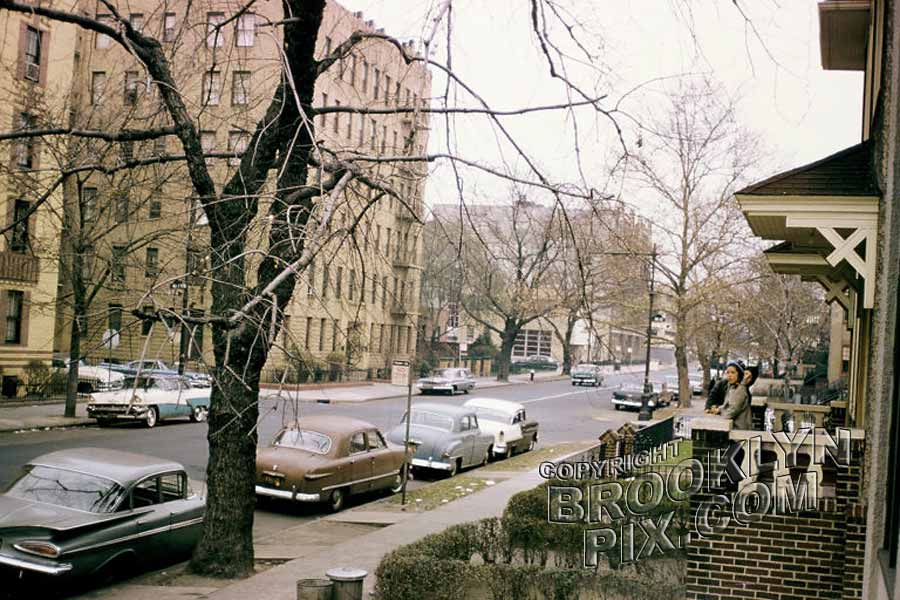 Borough Park view, c.1960 Old Vintage Photos and Images