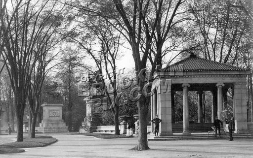 Boulevard (Park Circle) Entrance to Prospect Park, c.1890 Old Vintage Photos and Images