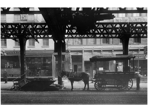 Bowery - at Broome Street & Grand Street 1915 Old Vintage Photos and Images