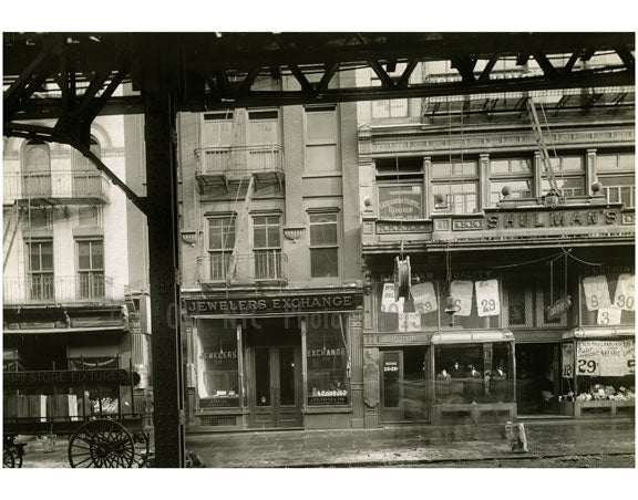 Bowery - between Canal & Hester Street 1915 Old Vintage Photos and Images