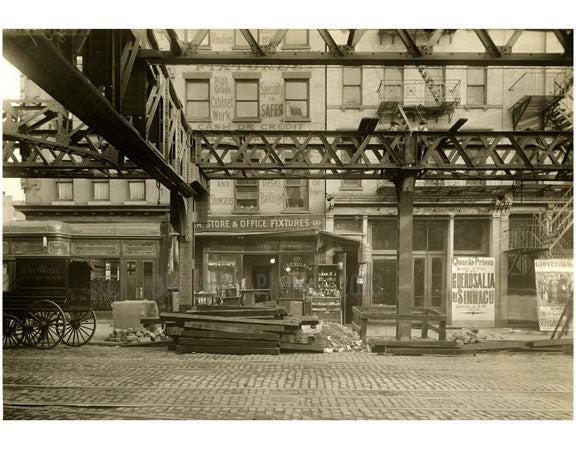 Bowery - between Delancey & Broome Street 1915 Old Vintage Photos and Images