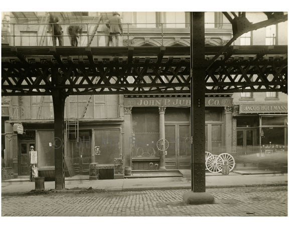 Bowery - between Grand & Hester Street 1915 Old Vintage Photos and Images