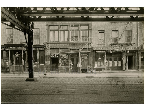 Bowery -between Stanton & Rivington Street 1916 Old Vintage Photos and Images