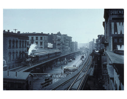 Bowery & Canal St 2 - Chinatown - Downtown Manhattan Old Vintage Photos and Images