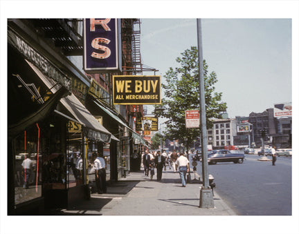 Bowery & Canal St Old Vintage Photos and Images