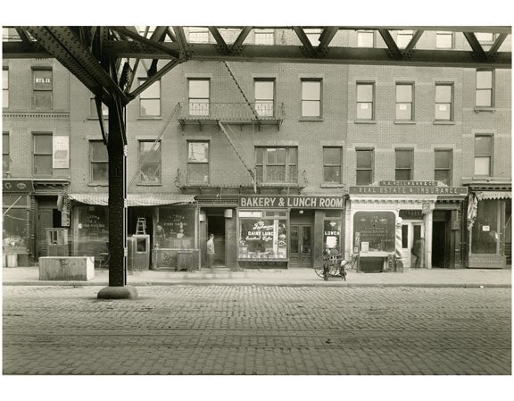 Bowery - east side - between Houston & Stanton Street 1915 Old Vintage Photos and Images