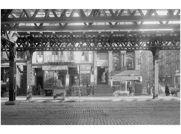 Bowery - east side - between Stanton & Rivington streets  1915 Old Vintage Photos and Images