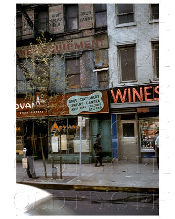 Bowery Manhattan, NYC 1959 Old Vintage Photos and Images