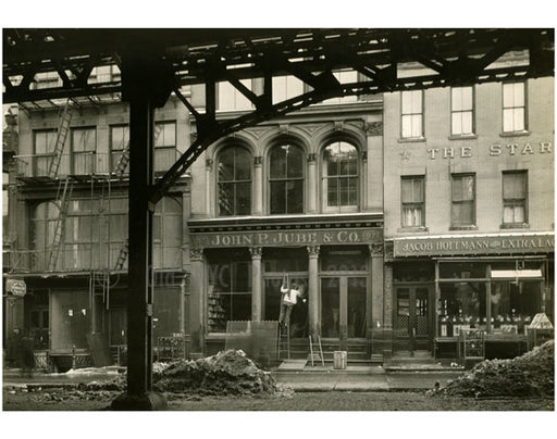 """John P. Jube & Co Bowery - East Side between Grand Street & Hester Street 1915"