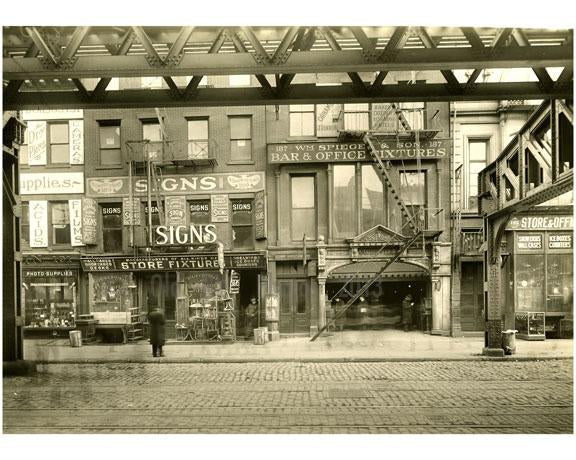 Old Vintage Photos & Images Bowery Manhattan NYC
